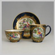 English antique porcelain